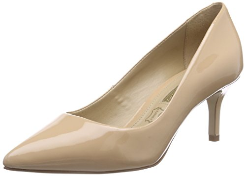 Buffalo London ZS 4982-15 Patent, Damen Pumps, Beige (Blush 06), 39 EU