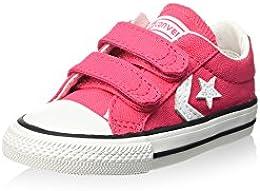 zapatillas converse niña rosa