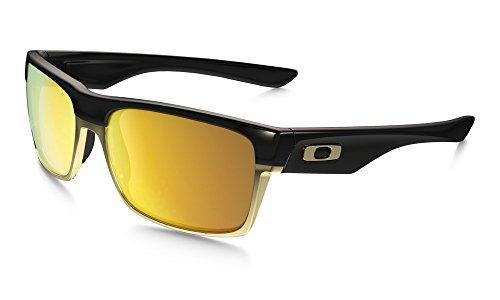 Oakley Sonnenbrille Two Face schwarz 24K Iridium
