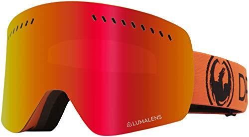 Dragon NFXs Tangerine Lumalens Red Ion + Lumalens Bernstein 40462-800 Snow Goggles