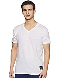 c5a4c4ca White T-Shirts for Men: Buy White T-Shirts for Men Online at Best ...