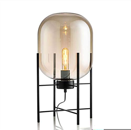 Lámparas de mesa retro, lámpara de escritorio de diseño creativo ...