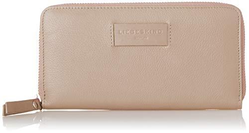Liebeskind Berlin Damen Essential Sally Wallet Large Geldbörse, Pink (Dusty Rose) 2x9x19 cm