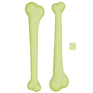 WIDMANN?Juego 2huesos Maracas Unisex-Adult, verde neón, talla única, vd-wdm2315F