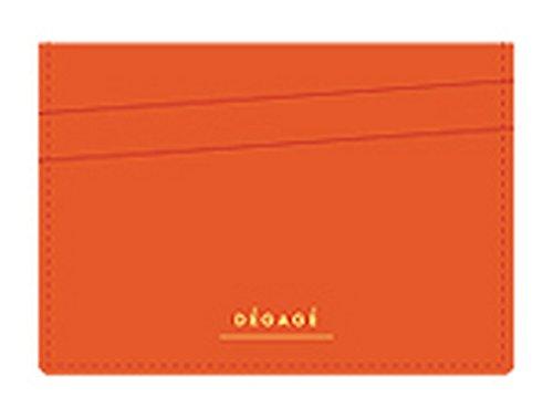 Degage flach Karte Fall Orange (Hobo Pocket Front Leder)