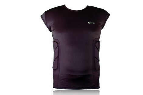 Full Force Herren Shirt mit Rippenpolsterung