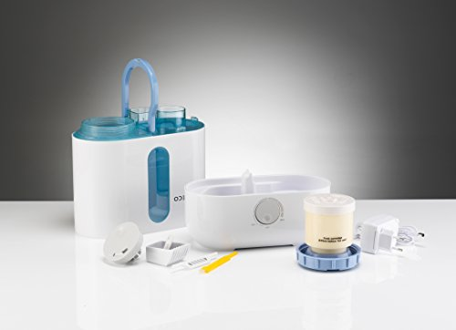 Boneco U200 Ultrasonic Humidifier, 3.5 Litre, 20 W, White, Aluminium, 3.5 liters