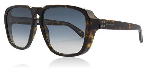 Givenchy Sonnenbrillen 4G SQUARE GV 7121/S DARK HAVANA/GREY BLUE SHADED Herrenbrillen