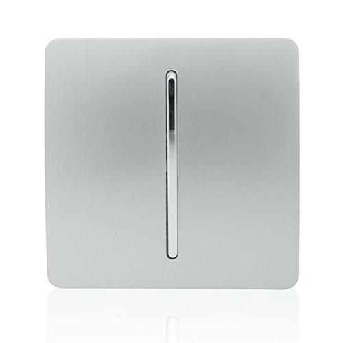 Trendi ART-SS2SI - Interruptor táctil de 1 Interruptor, 2 vías, Moderno Brillante,...