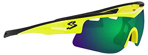 Spiuk Arqus – Gafas unisex, color amarillo / negro, talla