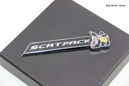 B483 6,4L Super Bee Biene Emblem Badge auto aufkleber 3D Scat Pack Scatpack Challenger Charger