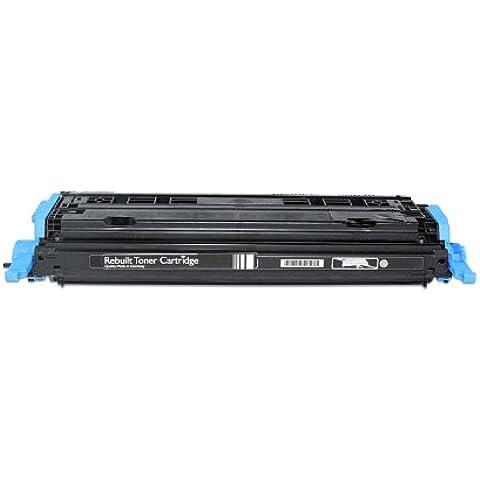 Compatibile per HP Color LaserJet 2600 Series Cartuccia Toner Q6001A 124A Ciano 2000 pagine