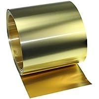 YILI - Rollo de papel de latón fino para cinturón de metal