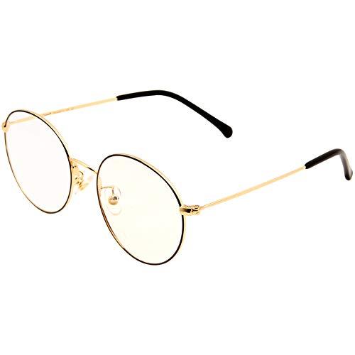 Cyxus Damen Brillengestell mehrfarbig schwarz/gold