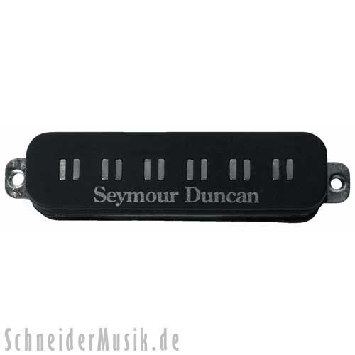 Seymour Duncan Spa STK1 N Blk Parallel Axis Single Coil Stack Neck, Medium, Black