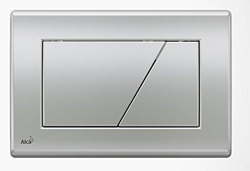 WC Vorwandelement für Trockenbau 100 cm inklusive Betätigungsplatte Chrom Matt Typ Trapez Unterputzspülkasten Spülkasten Wand WC hängend Schallschutz