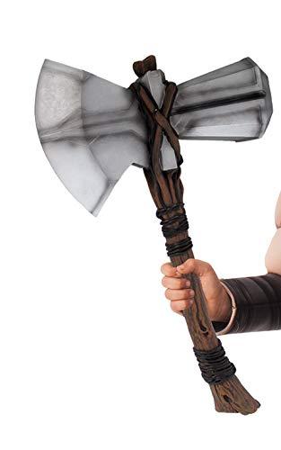Rubie\'s Offizieller Marvel Endgame Thor Stormbreaker Hammer für Kinder, Einheitsgröße, Mehrfarbig
