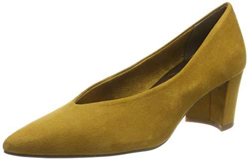 MARCO TOZZI 2-2-22416-33, Scarpe con Tacco Donna, Giallo (Mustard 606), 39 EU