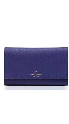 Kate Spade New York Mikas stagno Phoenix Tri-Fold portafoglio Baja Blue