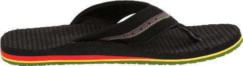 Sanuk Bubbler Irie 29418188, Tongs homme Rasta