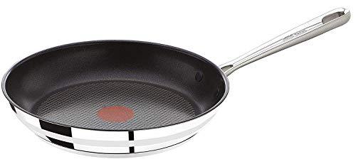 Tefal E85604 Jamie Oliver Pfanne, Edelstahl, 24 cm
