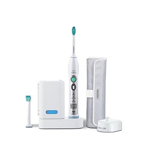 Philips Sonicare HX6932/10 FlexCare Elektrische Zahnbürste mit Schalltechnologie, weiß/blau