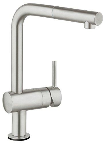Preisvergleich Produktbild Grohe 31360001 Minta Touch Küchenarmatur mit herausziehbarem Auslauf,