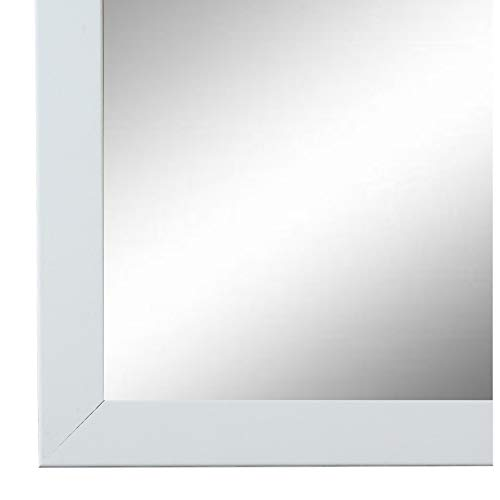 Online Galerie Bingold Spiegel Wandspiegel Weiß 30 x 40 cm - Modern, Vintage - Alle Größen - Made in Germany - AM - Neapel 2,0
