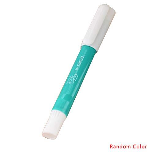 Lebensmittel Flecken Waschmittel (Fornateu Tragbare Stain Remover Pen Kleidung Waschmittel Haushalt Waschmittel-Stick Schmutzige Kleidung Fleckenentfernungswerkzeug zufällige Farbe)