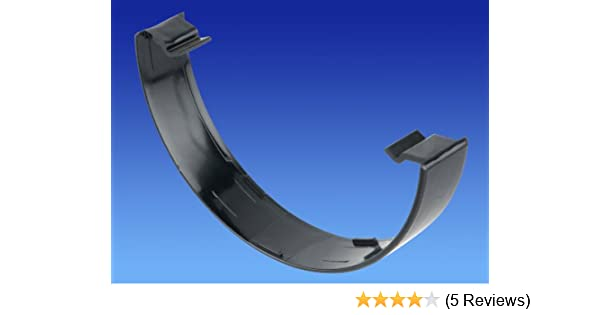 5T516 OSMA Superline Gutter Replacement Flexiclip BLACK