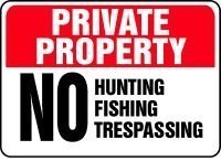 private-property-no-hunting-fishing-trespassing-sign-10-x-14-040-aluminum-by-accuform-signs