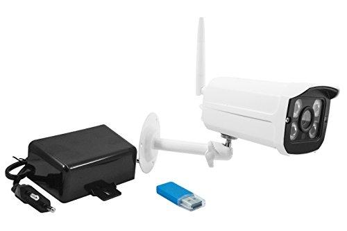 Galleria fotografica telecamera IP wireless, videosorveglianza di casa, uffici, negozio registra tramite usb Waterproof sia per interno che esterno