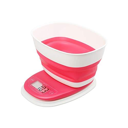 Este diseño elegante y minimalista es perfecto para cualquier hogar. Es un accesorio para el hogar muy práctico.Nombre del producto: Balanza electrónica de cocinaColor del producto: rosa.Material del producto: plástico verde.Tamaño del producto: 19 ×...