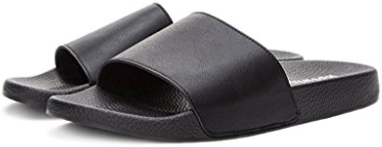 TIANYINI XIE Neue Sandalen und Pantoffel der Art 2018  Sommer Neue Art und Weise beiläufige Abnutzungsflipflops