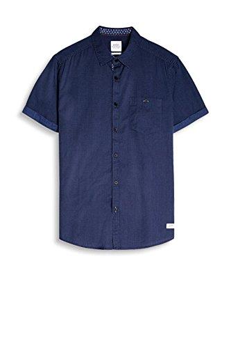 edc by Esprit 057cc2f005, Chemise Casual Homme Bleu (Navy)