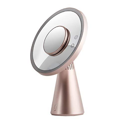 Unbekannt Coco LED Fill Light Smart Schminkspiegel, Bluetooth Sound Desktop Spiegel - Touchscreen...