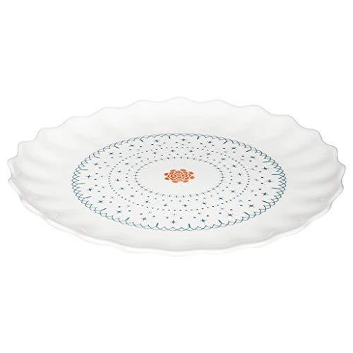 Speiseteller, Tellerset - Service - Geschirrsets - Tafelservice - Geschirr - Kombiservice, Geschirrset in modernem Design für stilbewusste Genießer(19 cm)