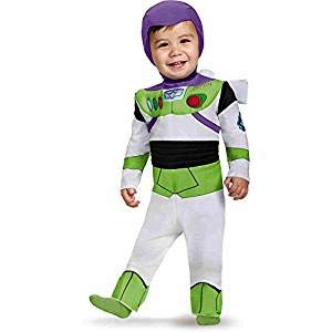 Disguise Costumes Buzz Lightyear Deluxe Costume (Infant), 12-18 -