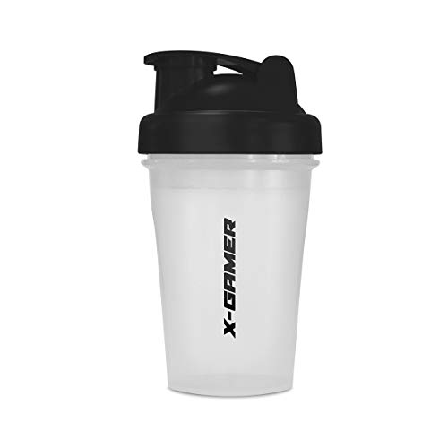 X-Gamer 500ml OG X-Mixr 3.0 Shaker Cup (Black and Frost)