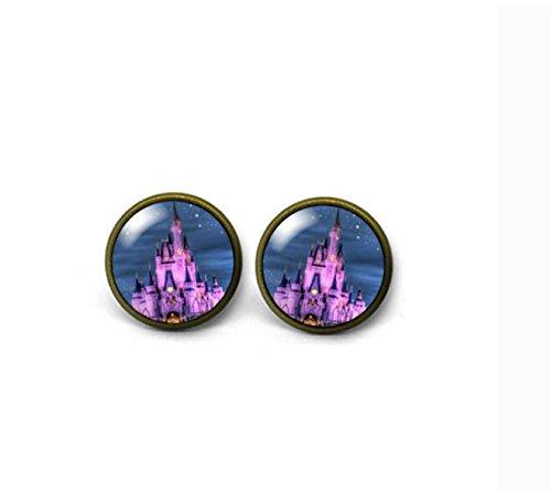 Disney Castello, cupola in vetro post orecchini