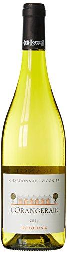 LORGERIL Vin Blanc IGP Chardonnay Viognier l'Orangeraie Réserve 2016 75 cl