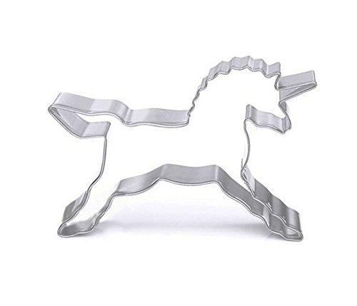 dreamflying Einhorn Pferd Cookie Cutter–Edelstahl