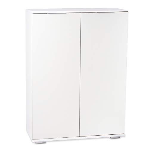 Möbel Pracht Aktenschrank, Büroschrank, Aufbewahrungsschrank, Büromöbel (weiß, B80,2cm x H109,5cm x T35cm)