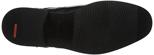 Rockport Herren Style Purpose Wing Tip Black Brogues Schwarz (Black)