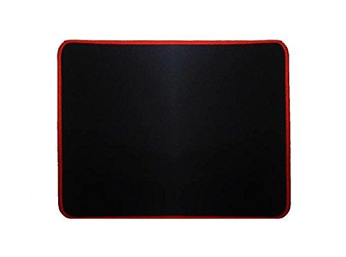 Woodlandu Klein Gaming Mouse Pad Gen?hte Kanten Geschwindigkeit seidiger Oberfl?che rutschfeste Gummiuntermatten 240x320x3mm/9.4x12.6x0.12inch Rot Edges