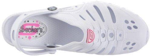 Skechers Step Ups Fly Abouts 37181 WHT, Chaussures femme Blanc-TR-SW129