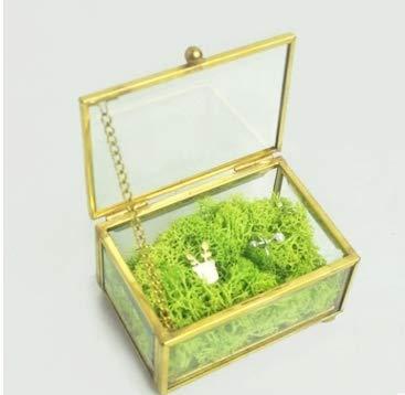 Hochzeit Ring Inhaberaktien Box, Geometrische Ring Box, Gravierten Ehering box, Schmuckschatulle Ring Inhaberaktien Kissen Für hochzeit Dekorationen (Kissen Inhaberaktien Ring)