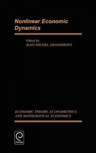 [(Nonlinear Economic Dynamics )] [Author: Jean-Michel Grandmont] [Jul-2003]