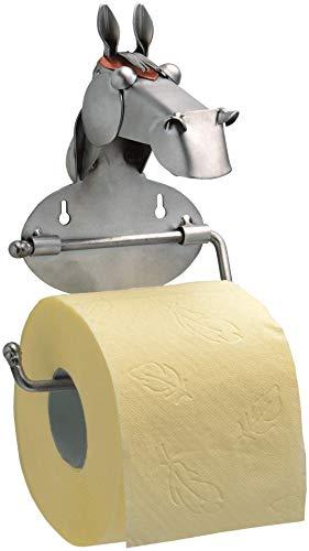 Boystoys HK Design - Toilettenpapierhalter Pferd Metall Art Klopapierhalter - Original Schraubenmännchen Kollektion - handgefertigte Geschenkidee