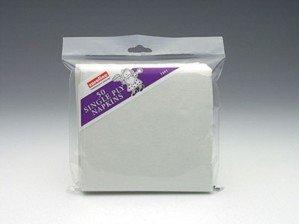 Caroline Lot de 50 serviettes en Papier 2 plis Blanc - 1216